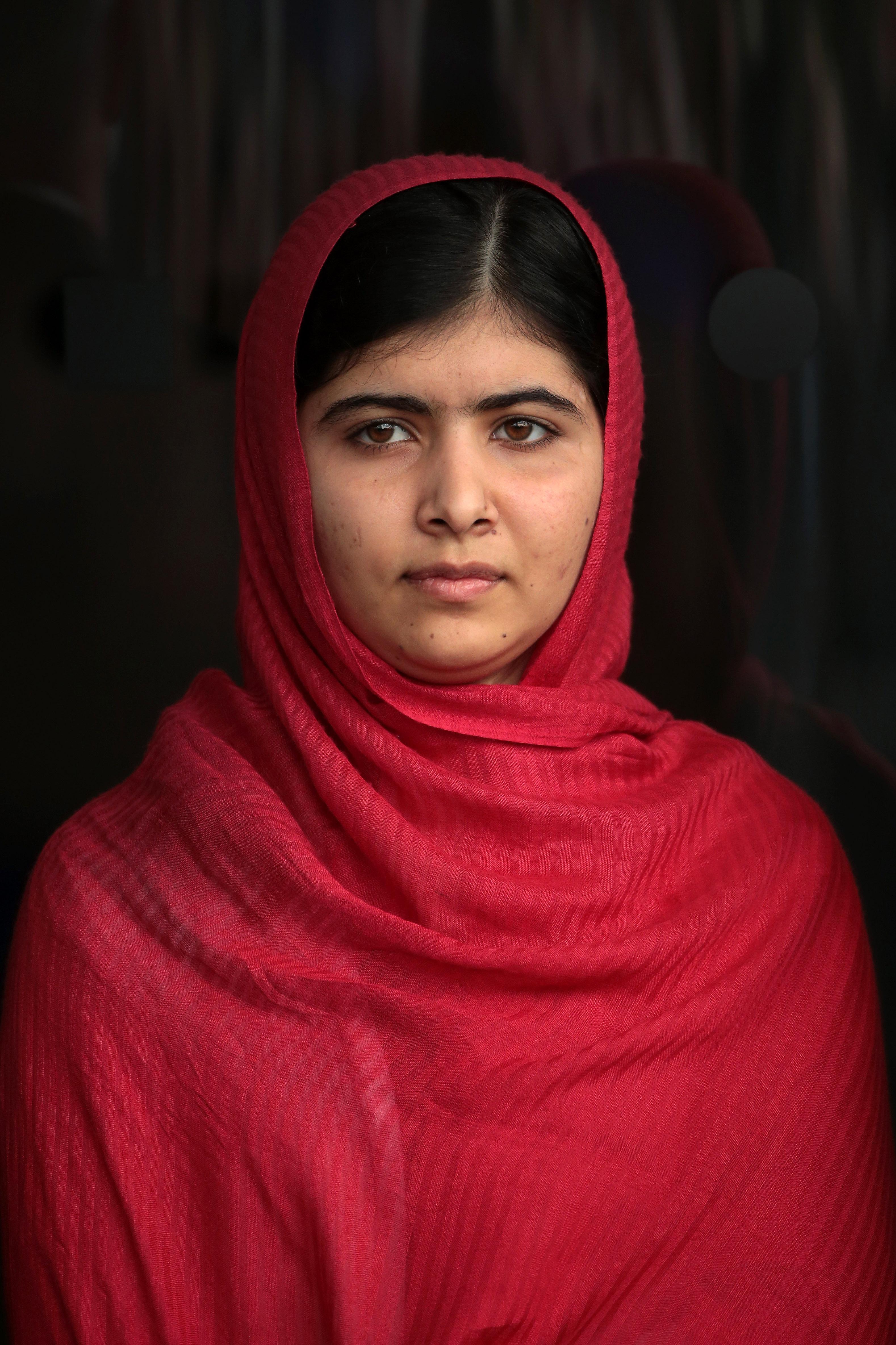 Пакистанската активистка и най-млада носителка на Нобелова награда за мир Малала Юсуфзай