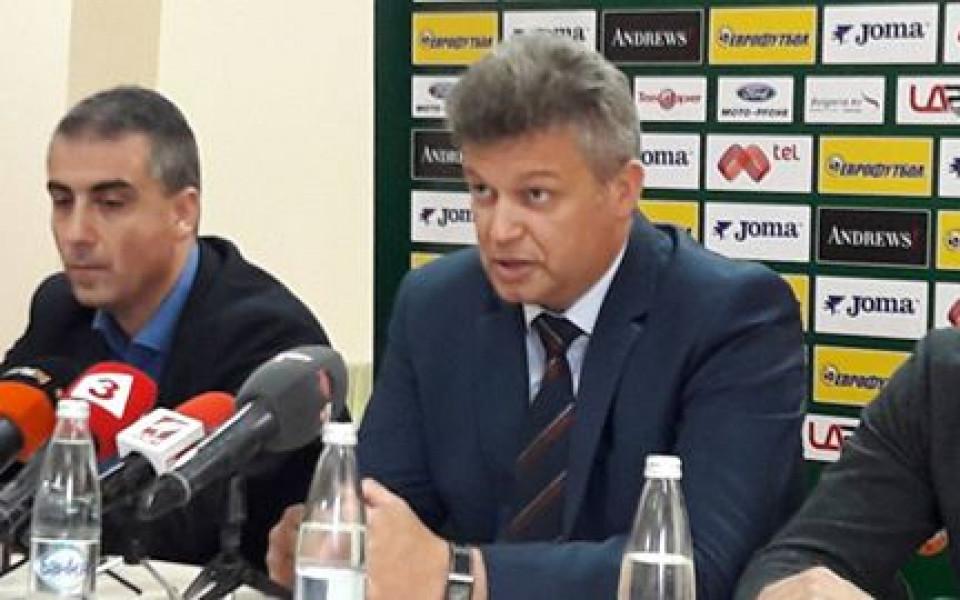 Шефът на съдиите: Ивайло Стоянов сега е в топформа