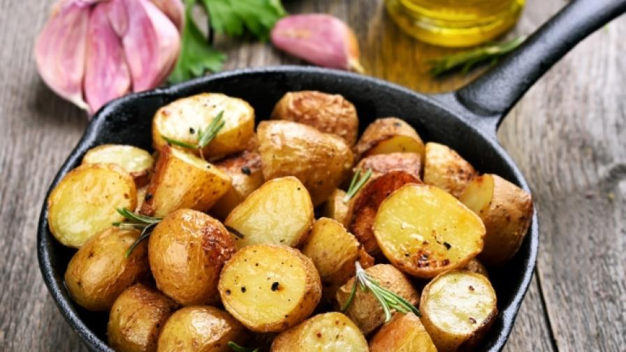 Учени: Хапването на картофи три пъти в седмицата е опасно