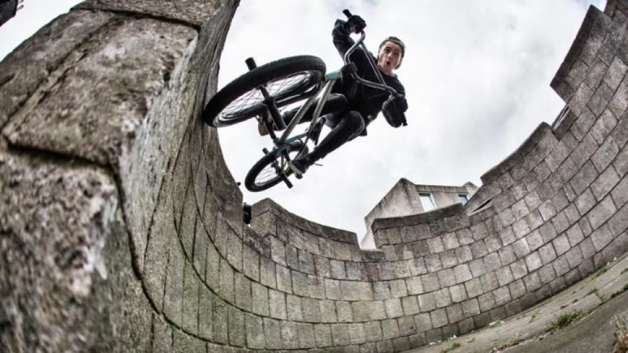 От Шотландия до Франция с велосипед