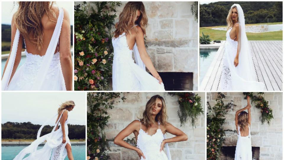 Най-популярната сватбена рокля в Пинтерест