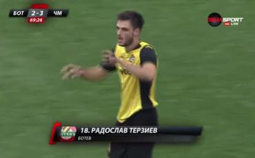 Терзиев върна Ботев в мача срещу Черно море
