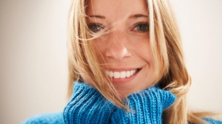 усмивка щастие жена красота