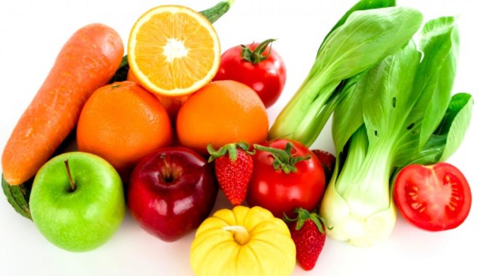 Оранжеви и зелени плодове и зеленчуци срещу стрес