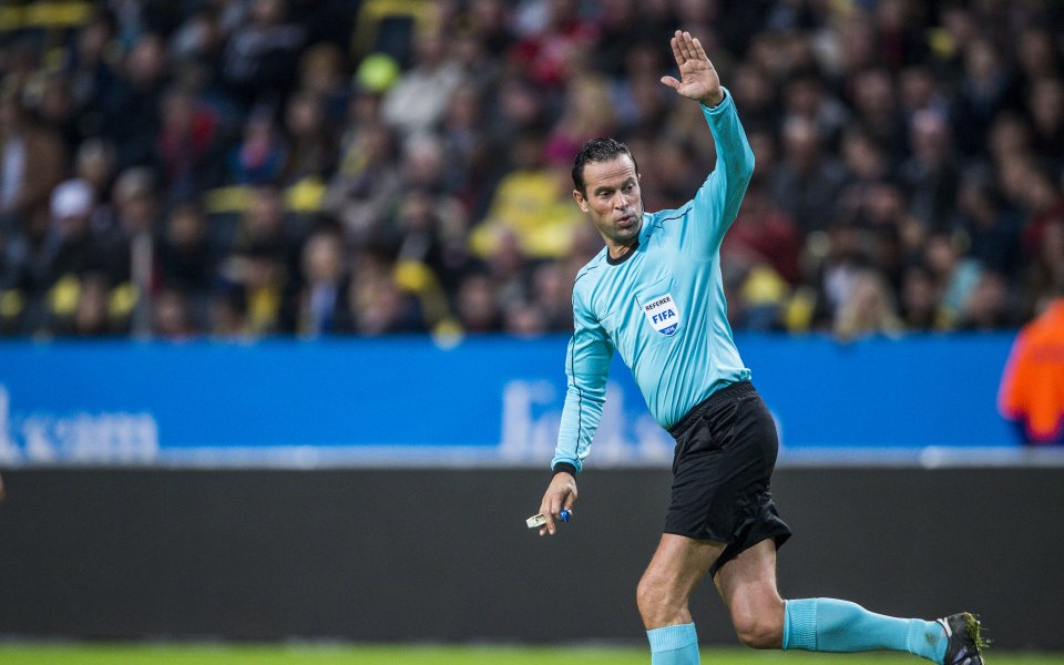 Холандец ще ръководи мача Лудогорец - Арсенал