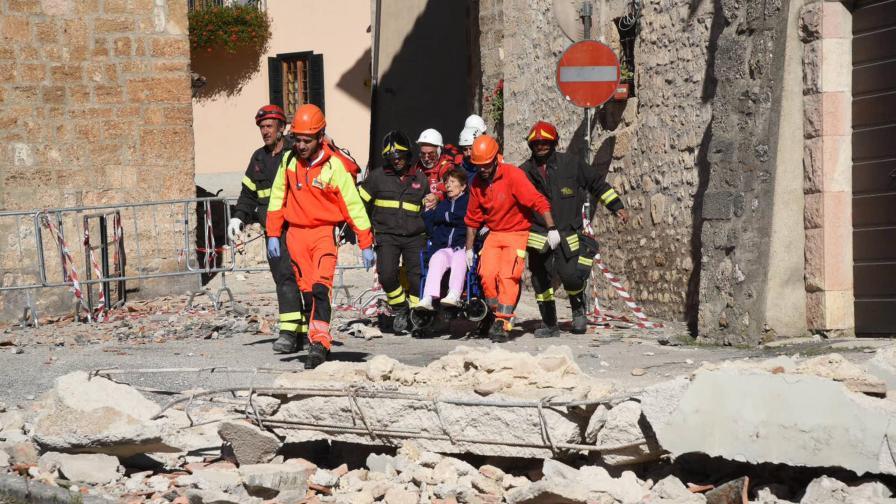 Нов силен трус удари Централна Италия