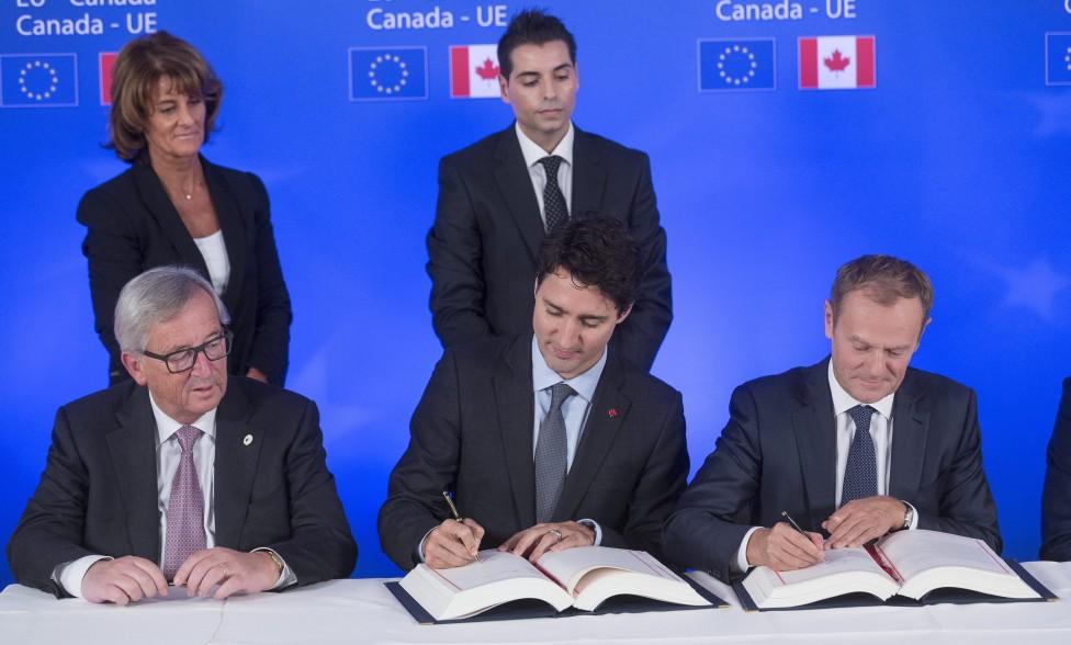 - Канадският премиер Джъстин Трюдо и европейски лидери подписаха споразумението за свободна търговия Всеобхватното икономическо и търговско...