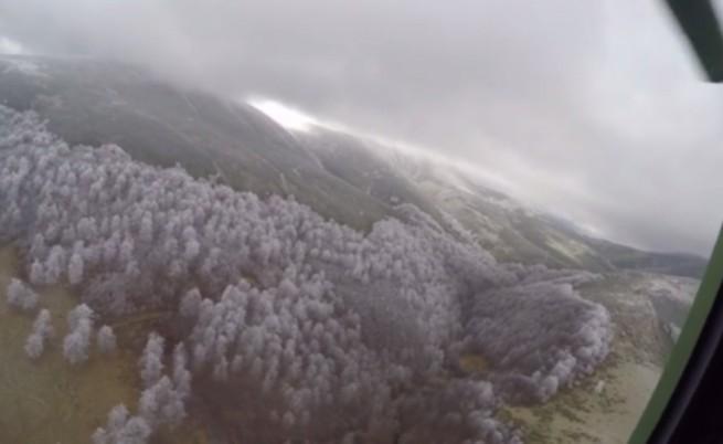 Снеговалеж затруднява издирването на туриста в Стара планина