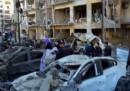 Мястото на експлозията в Диарбекир