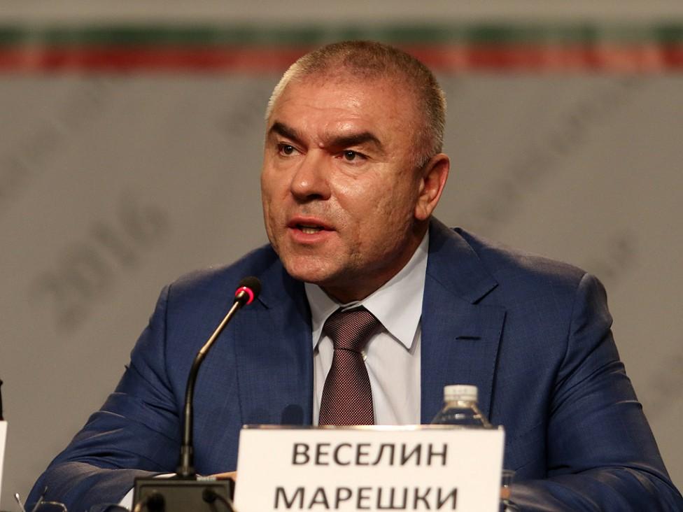- Пресконференция на Веселин Марешки и Петър Петров