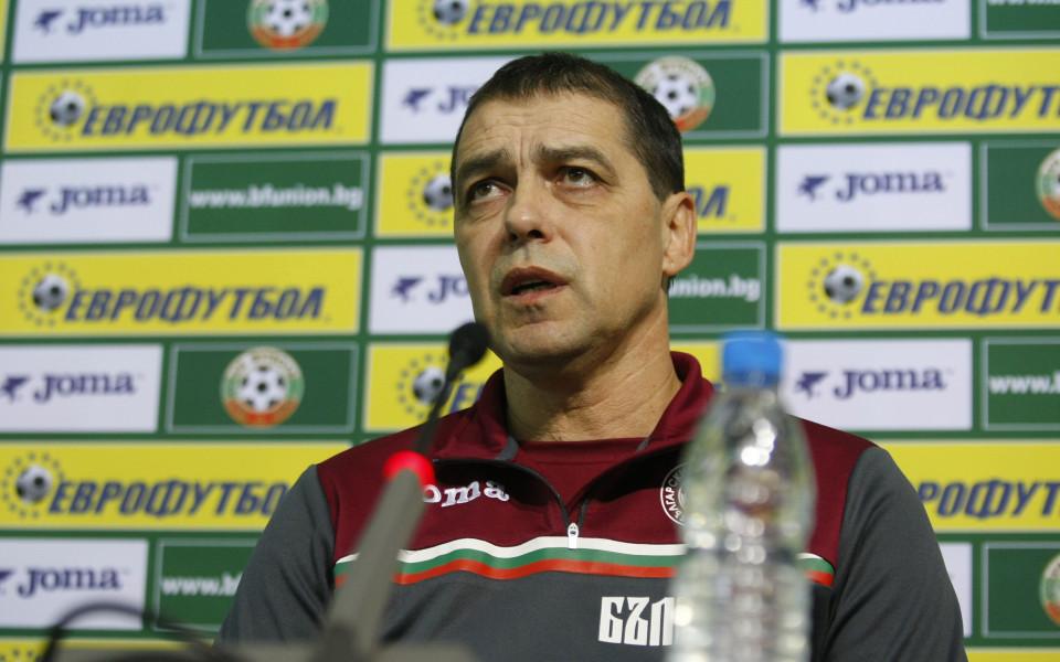 Хубчев: Националите трябва да са по-добри професионалисти