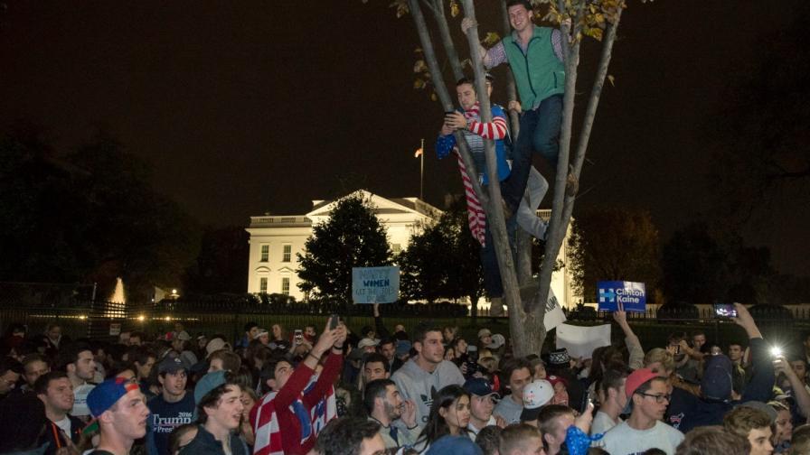 Как Америка реагира на резултатите от изборите