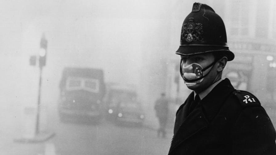 Убийствената мъгла, която се спусна над Лондон преди повече от 60 г.