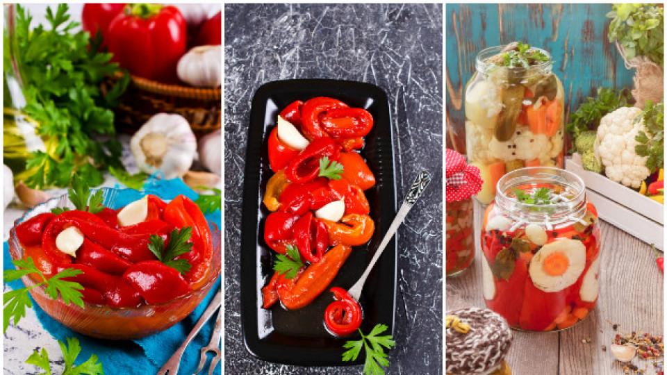 11 рецепти с печени чушки, които да сготвим през ноември