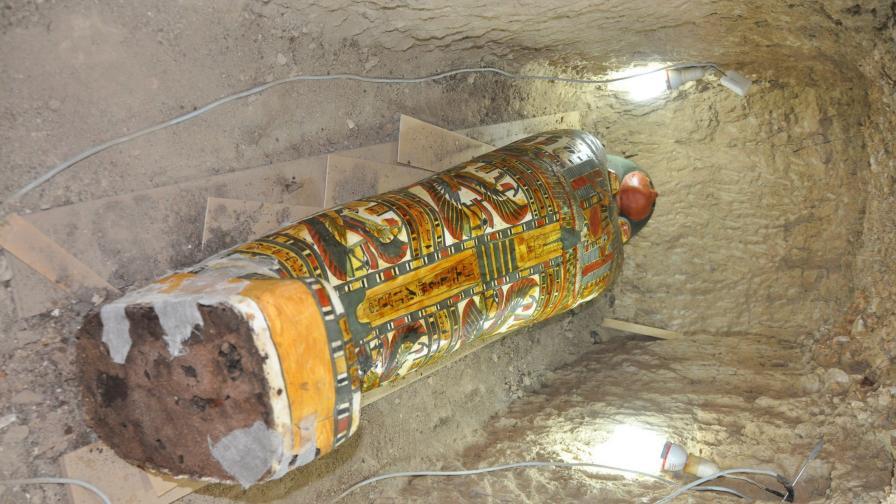 Откриха мумия на 3000 г. в отлично състояние