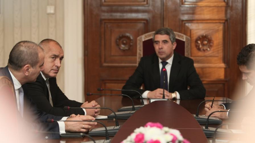 Консултации с ГЕРБ при президента