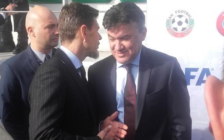 Боби Михайлов: Това е голяма сбъдната мечта, Кралев: Чудесен ден за футбола