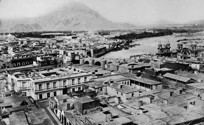 Лима, Перу, 1860 г.