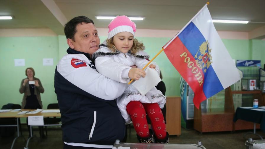 На 16 март 2014 г. чрез референдум гражданите на Крим избраха присъединяване към Руската федерация