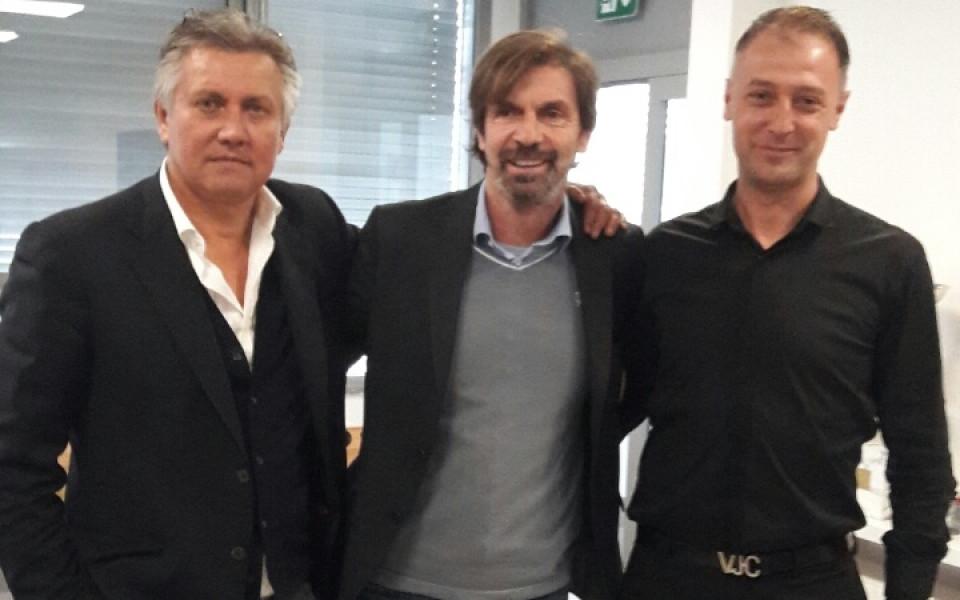 Шефовете на Локомотив Сф на гости на Милан