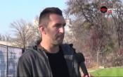 Мартин Камбуров пред напускане на Локо Пд