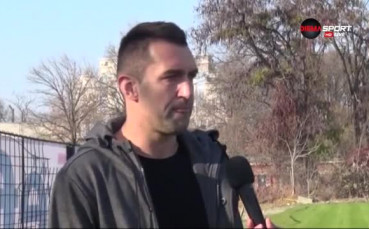 Головата машина на Локо Пловдив срещу Левски - Мартин Камбуров