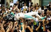 Триумфът на Нико Розберг<strong> източник: Gulliver/GettyImages</strong>