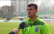 Венцислав Василев започна тренировки с Етър