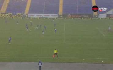 Голът на Веселин Марчев срещу Левски