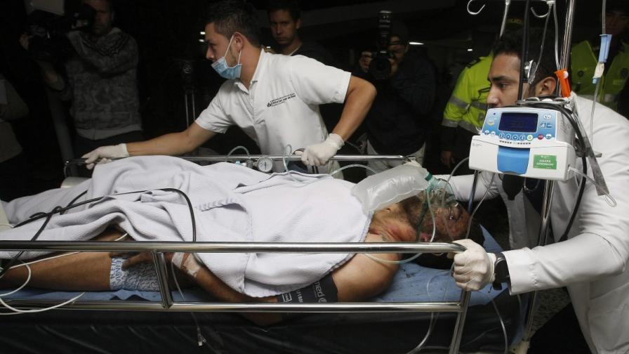 27-годишният футболист Алан Рушел е сред оцелелите в катастрофата