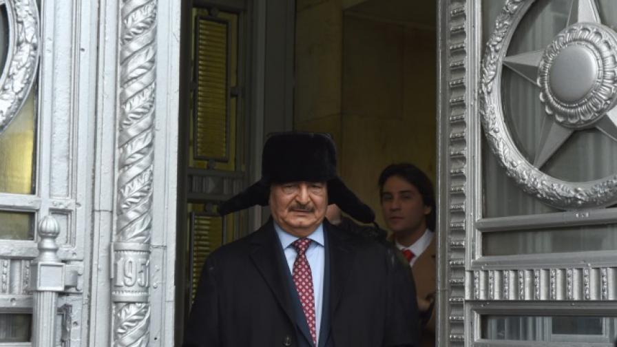 Източна Либия поиска военна помощ от Русия