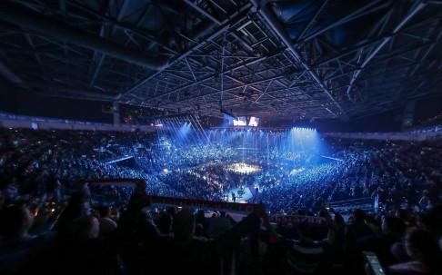 Арена Армеец в очакване на големия боксов спектакъл