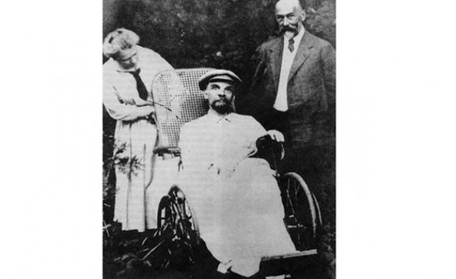 последната снимка на Ленин
