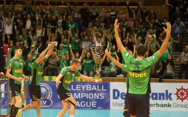 ВК Добруджа<strong> източник: volleyball.bg</strong>