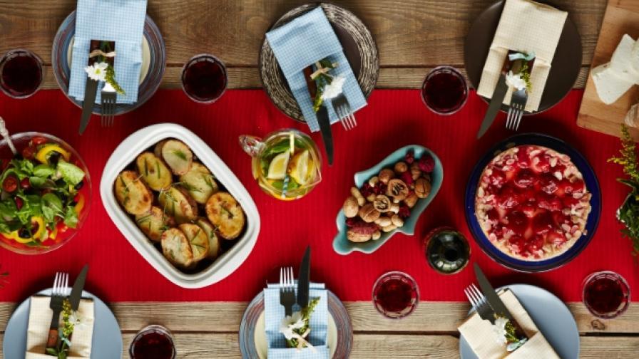 Нацията, която се храни най-здравословно на Коледа е...