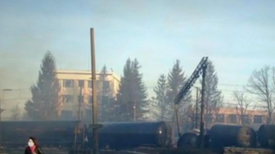 48 часа по-късно: Огнени кълба и пламъци до небето