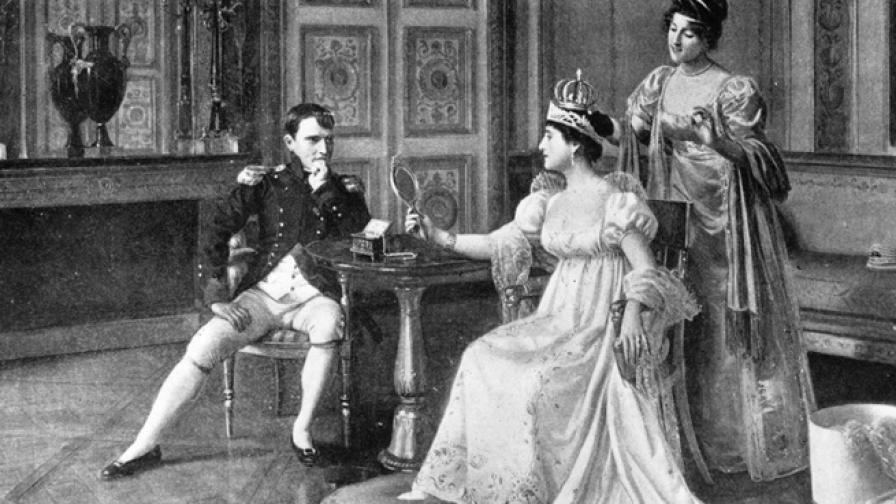 Любовните премеждия на три исторически личности