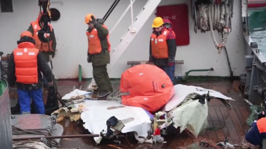 Москва проговори за падането на Ту-154