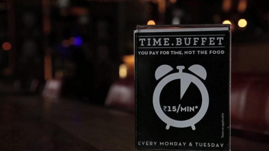 Ресторантът, в който плащаш за ... време (видео)