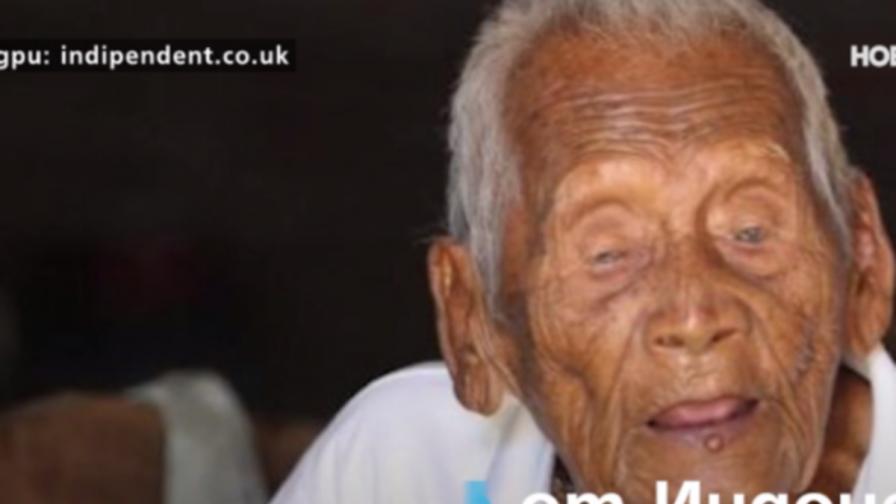Най-старият човек в света чака смъртта си от миналия век