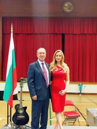 Генералният консул - Веселин Вълчев и Петя Алекса