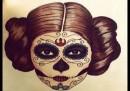 Фенове си татуират принцеса Лея, почитат Кари Фишър