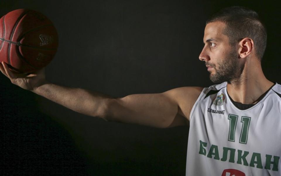 Иван Лилов с добър мач в Унгария