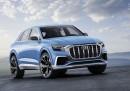 Audi разкри предвестника на купеобразен кросоувър