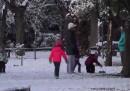 Гърция: Акрополът побеля, гвардейци пред падане в леда