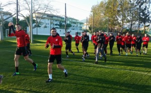 ЦСКА направи първа тренировка в Испания