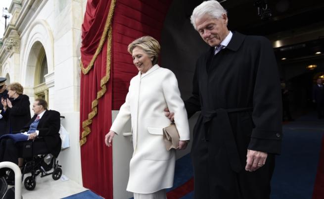 Хилари и Бил Клинтън