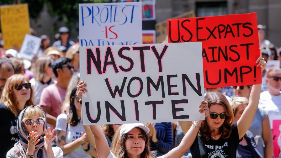 Сега Тръмп наистина ядоса жените