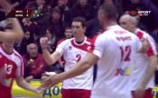 Волейболният ЦСКА пречупи лидера Монтана