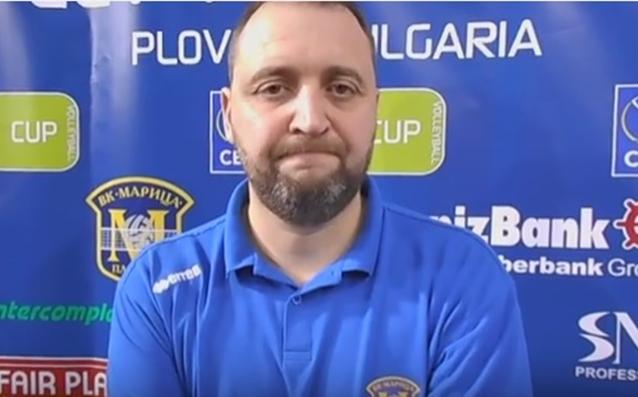 Иван Петков<strong> източник: volleymaritza.bg</strong>
